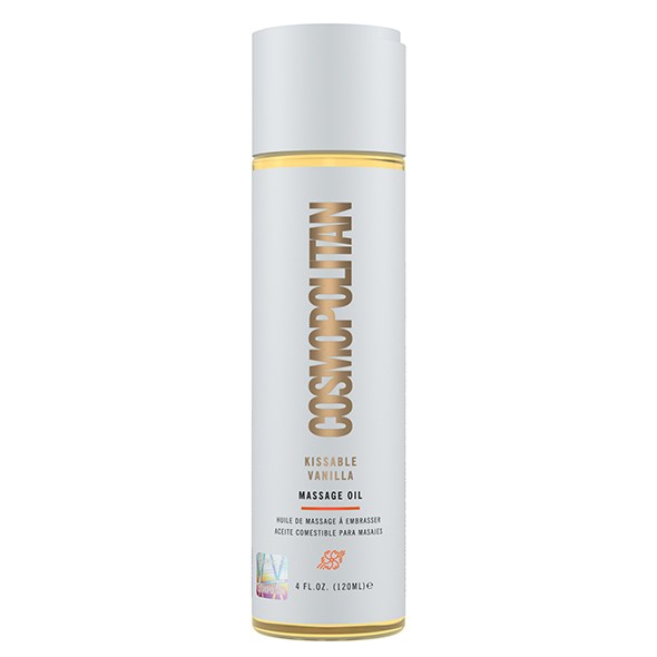 Cosmopolitan - Kissable Massage Oil Vanilla 120 ml