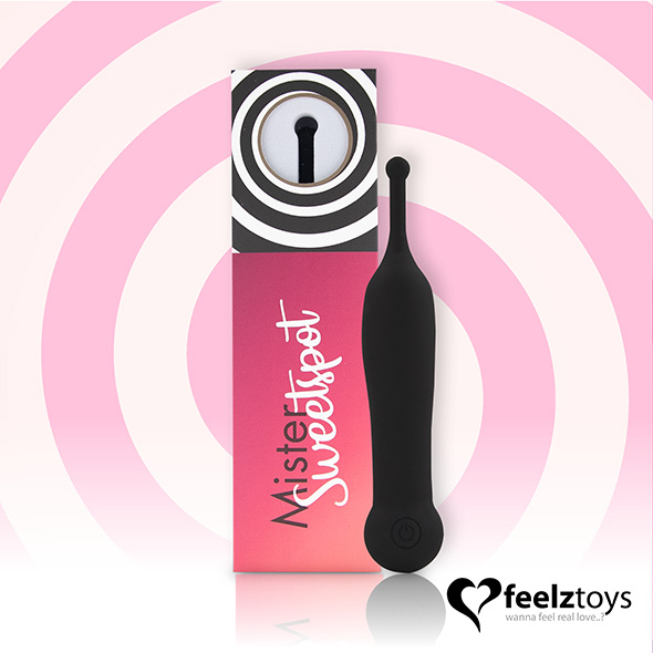 Feelztoys - Mister Sweetspot Clitoral Vibrator Black