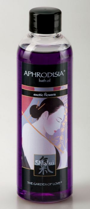 Shiatsu - Bath Oil Exotic Flowers 200ml