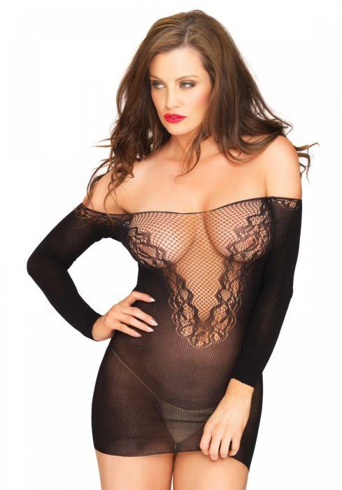 Leg Avenue Off the shoulder minidress