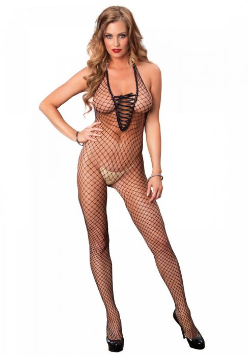 Leg Avenue Industrial net bodystocking Black