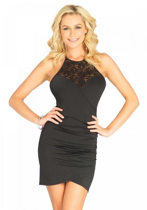 Leg Avenue Dress Victoria Black