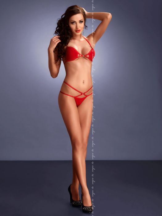 Me Seduce Palmira Red Set