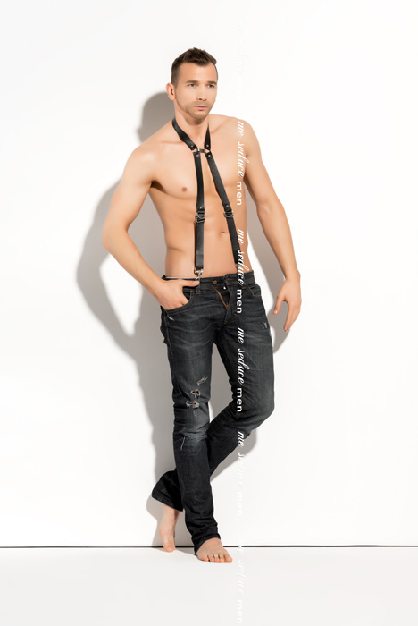 Me Seduce Harness man 01 Black