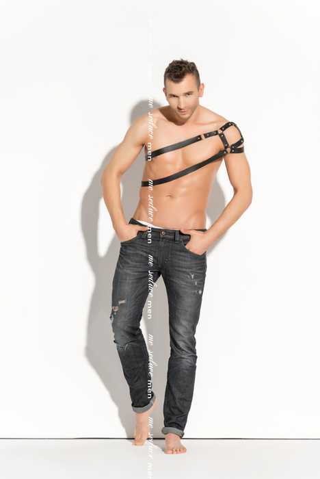 Me Seduce Harness man 02 Black
