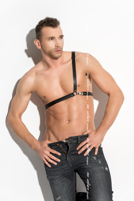 Me Seduce Harness man 03 Black