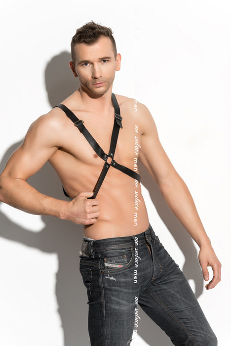 Me Seduce Harness man 04 Black