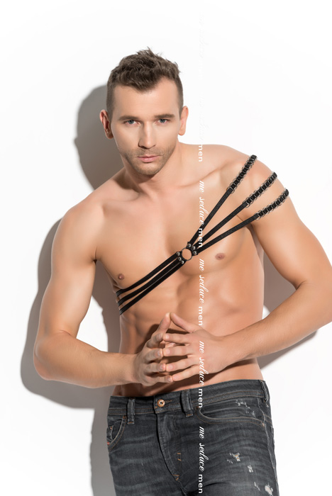 Me Seduce Harness man 06 Black