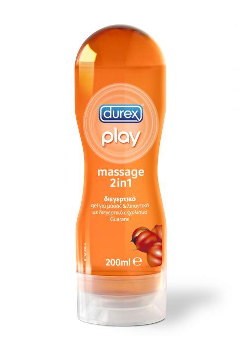 Durex - Play Sensual Massage  2σε1 Guarana