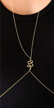 Body Chain Gold