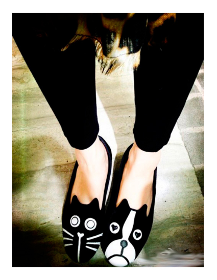 Flat Shoes Cat-Dog