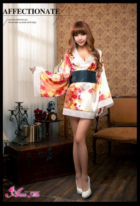 AnnaMu Kimono 2 Pcs Costume