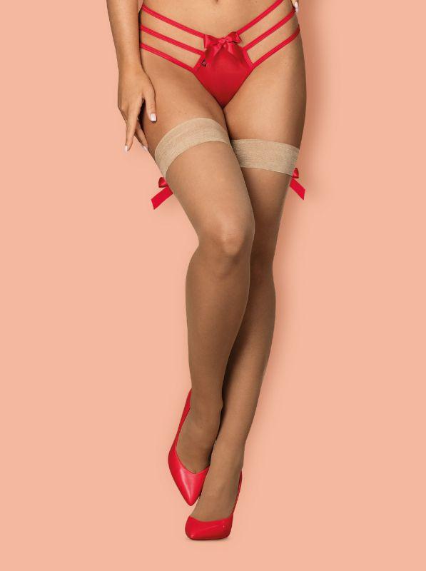 Obsessive S808 stockings Beige
