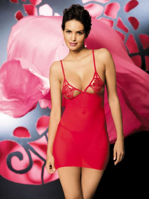 Obsessive Luiza chemise red