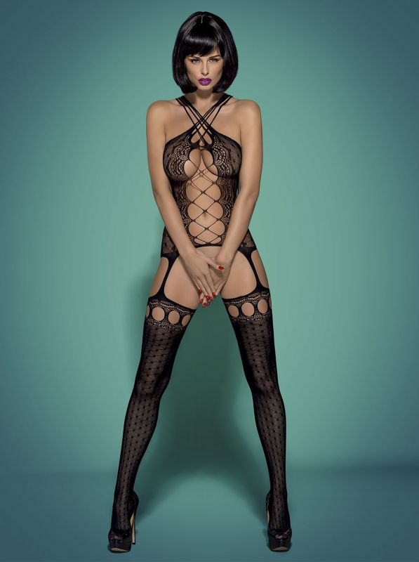 Obsessive Bodystocking G313 black