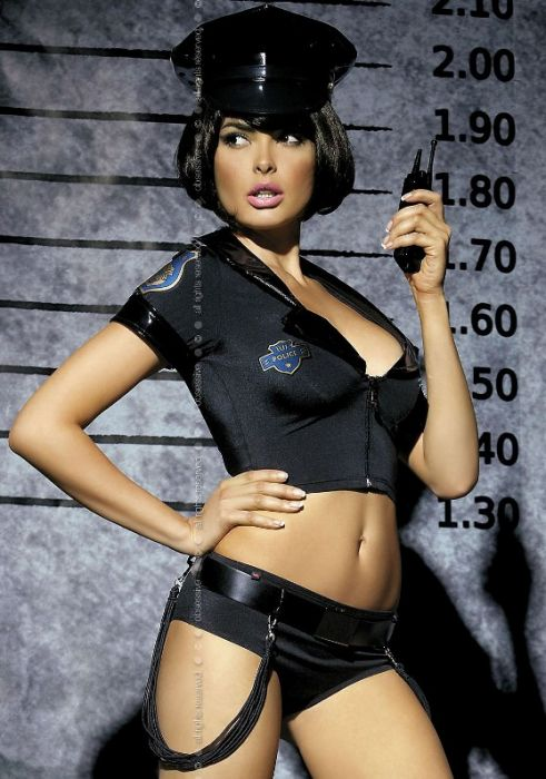 Obsessive Sexy Police Set Costume