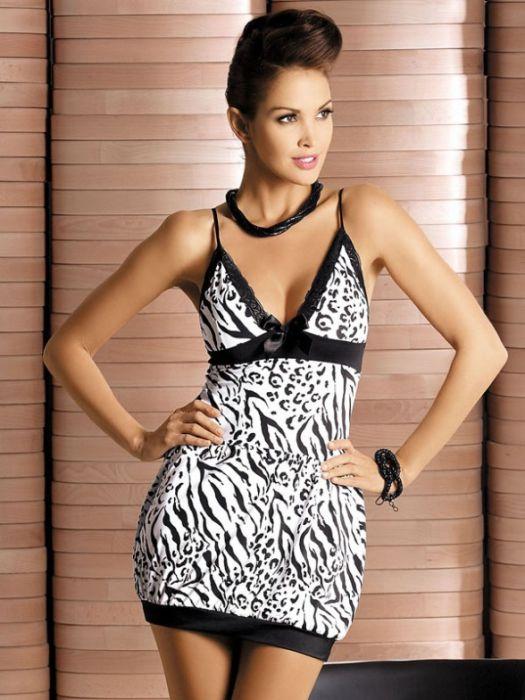 Obsessive Zebra chemise