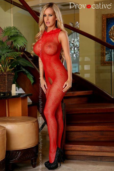 Provocative Bodystockings Red