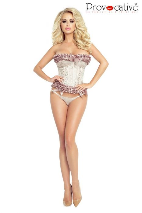 Provocative Corset and String PR4892