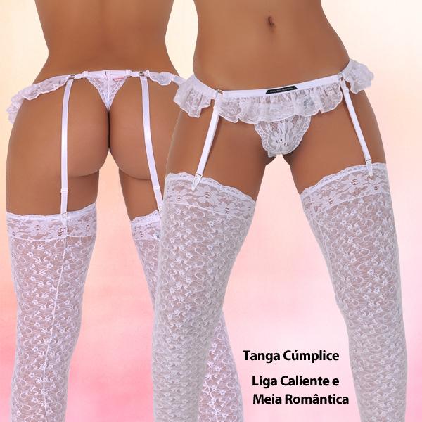 Sensualle Cumplice-Caliente-Romantica Set white