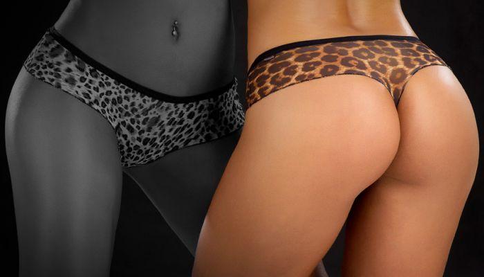 Sensualle Calcinha Apertadinha leopard