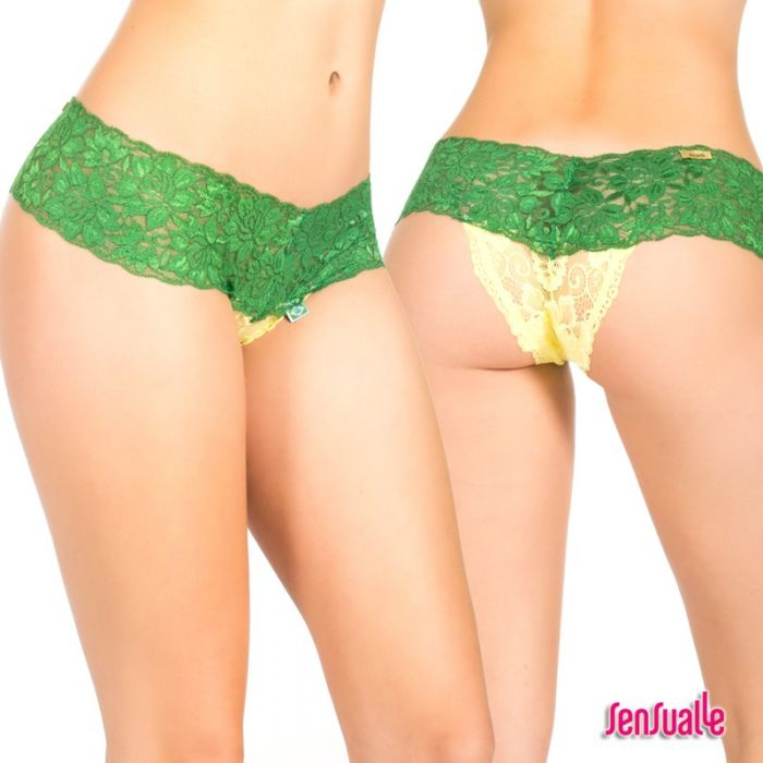 Sensualle Copacabana Green-Yellow