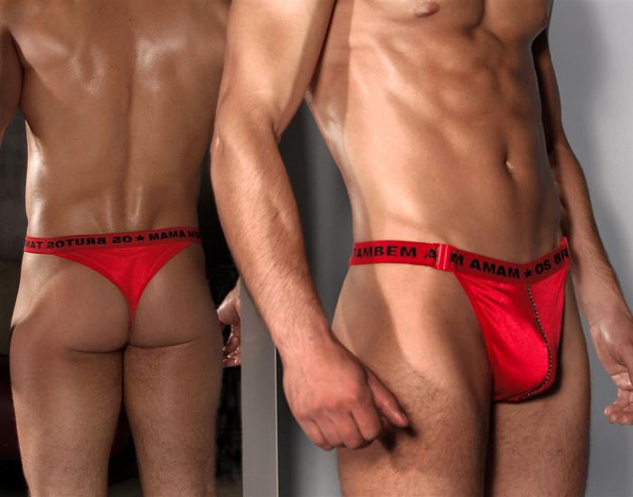 Sensualle Men's Daniel Red