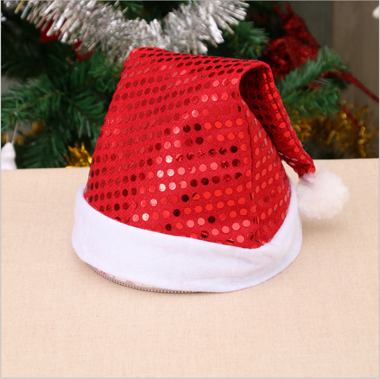 Christmas Hat with Sequin