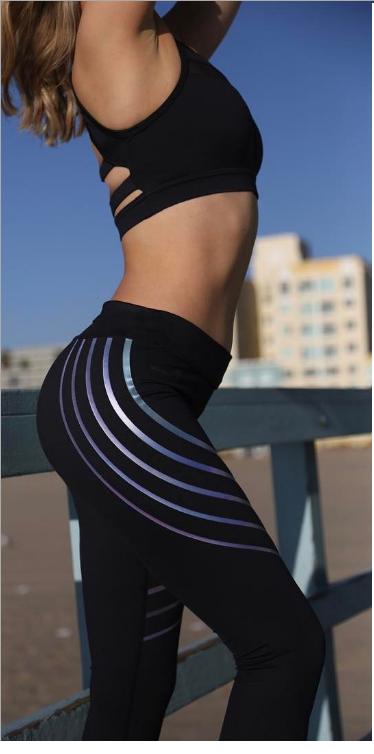 Sporty Leggings Black