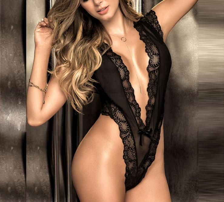 Sexy Lace Body Black