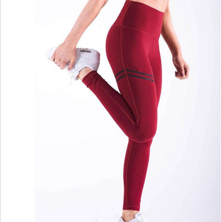 Sporty Red Leggings