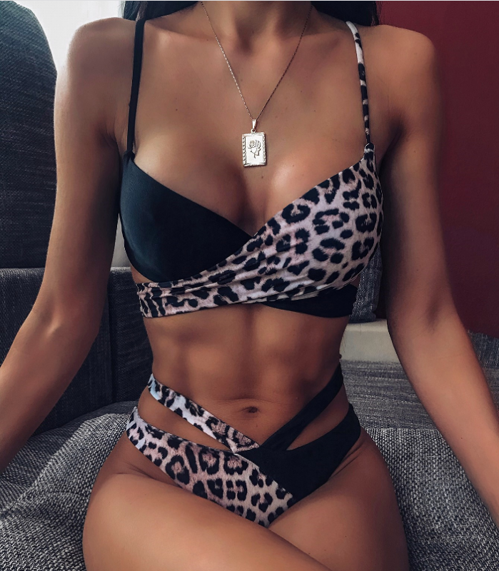 Sexy Leopard Bikini