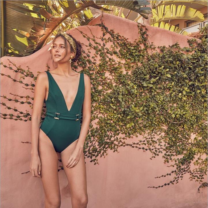 Sexy Monokini Green