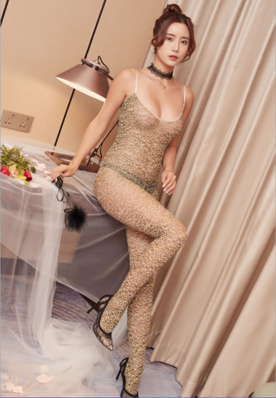 Sexy Bodystocking Leopard