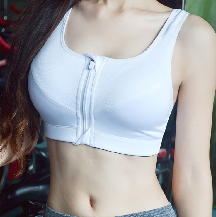 Sporty Bra White
