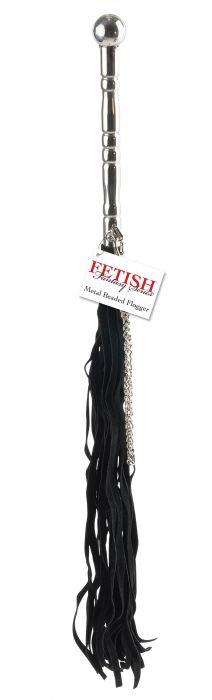 Fetish Fantasy Series - Beaded Metal Flogger