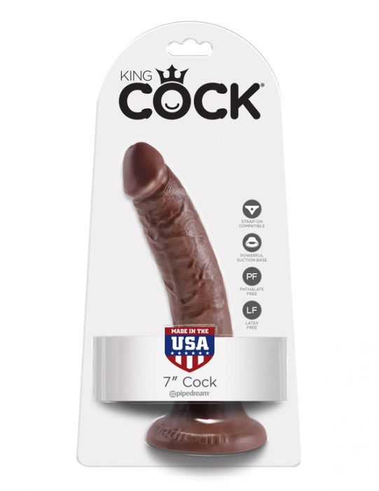King Cock 7 Brown