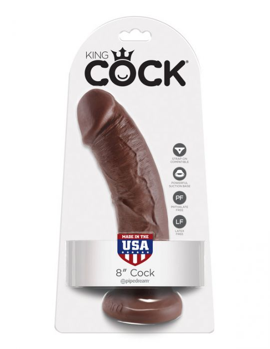 King Cock 8 Brown