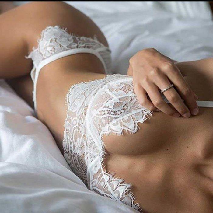 Lace Set White