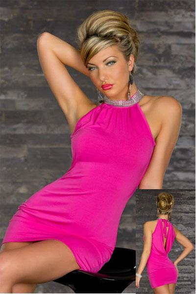 Sexy Stretchy Clubwear Rose