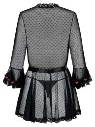 Obsessive Piccorosa robe and thong black