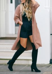 Over The Knee Boots Black
