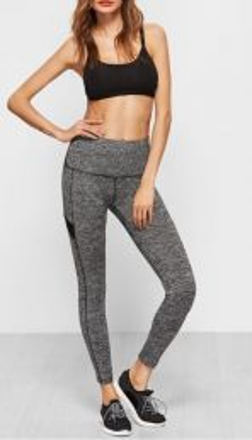 Sporty Grey Leggings
