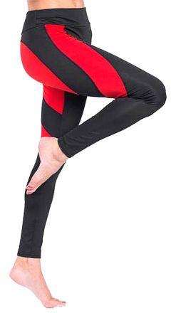 Heart Red/Black Leggings