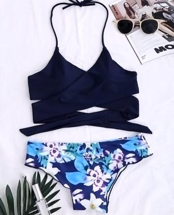 Floral Brazilian Bikini
