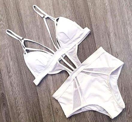 Monokini White