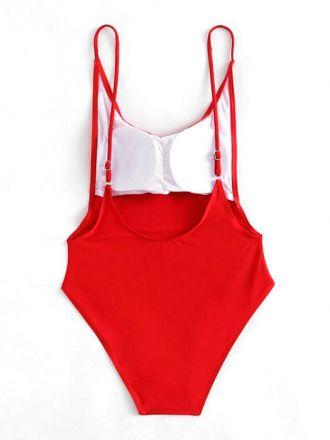 Monokini Red