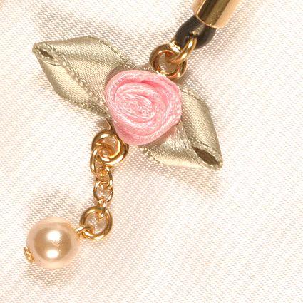 Bijoux Seins Or Fleurs Roses