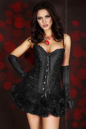 Chilirose Skirt Black