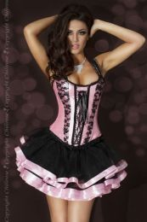 Chilirose Skirt Black/Pink